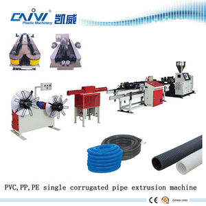 wire wrapped flexible corrugated hose machine