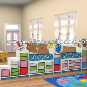 Niños De Madera De Almacenamiento Juguete Muebles Guardería Diseños ...