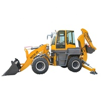 Multi purpose front loader and excavators backhoe loader for road building