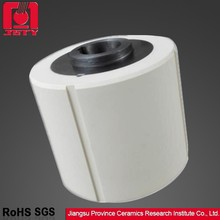 mechanical roller 99% alumina ceramic tube with metal heart