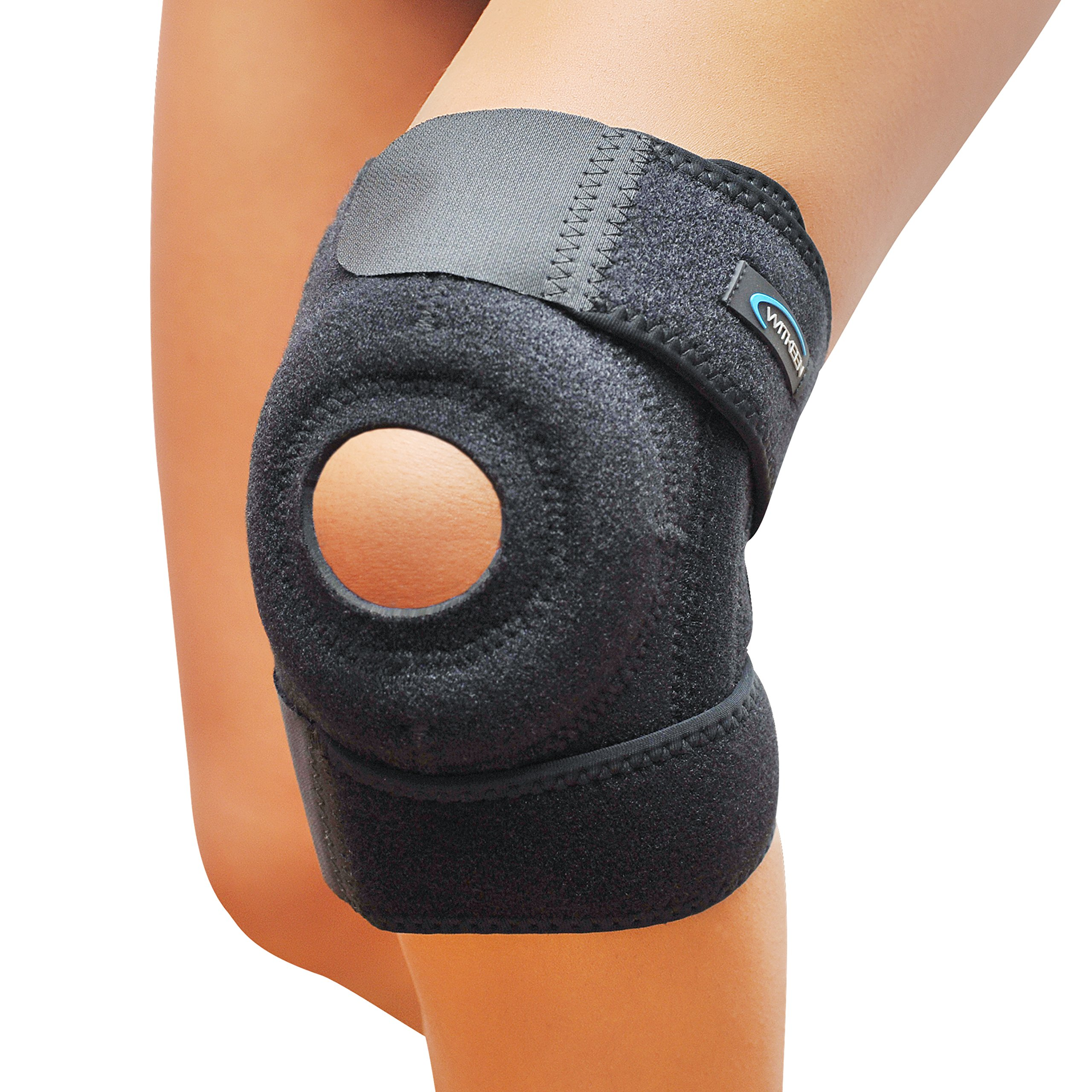 919142c16a Get Quotations · WITKEEN Knee Support Brace - Immediate Relief for  Arthritis, Tendonitis, Sports, Sprains -