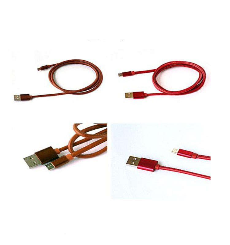 Flexible TPU Micro USB Male to USB A Male Coiled Data Cables