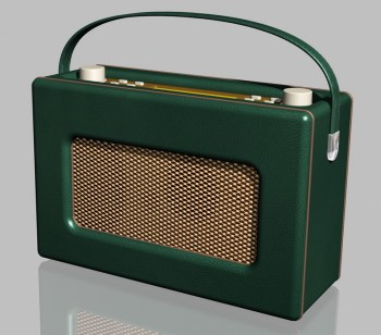Hot sale Portable FM radio retro style DAB alarm clock radio