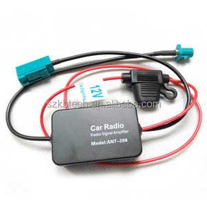 Car Antenna Fm Radio Signal Amplifier Antenna Fm Radio Signal Amplifier For VW Connector ANT-208