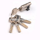 Euro Profile Super Safe Lock Cylinder Half Brass Mortise Door Accessories Factory