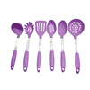 Best Gift For Mom Heat Resistant OEM/ODM Silicone + Stainless Cookware Kitchen Tools Accessories Utensils Set of 6pcs