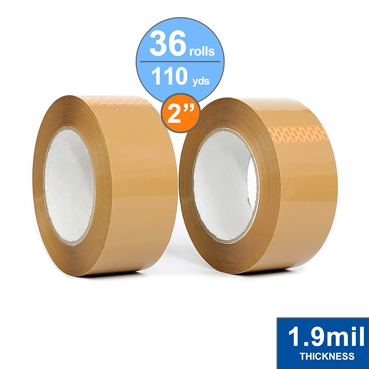 49712 1//2 Inch Wide x 1296 Inches Long 12 Rolls 1 Roll//Box Charles Leonard Transparent Tape 1 Inch Core