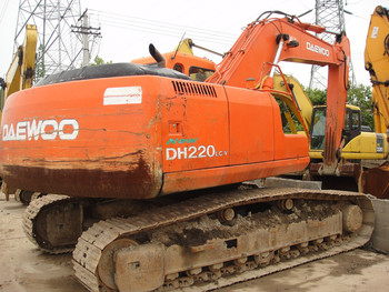 Used Cheap Nice 20 Ton Daewoo 220 Excavator Dh220lc-v For Sale Cheap