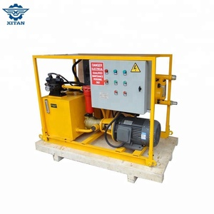 XGH100 high pressure portable grout pumps for sale used in backfill grouting