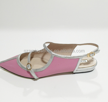 792c02f4cdb China Ladies Genuine Leather Fancy Women Flat Shoes - Buy Ladies ...