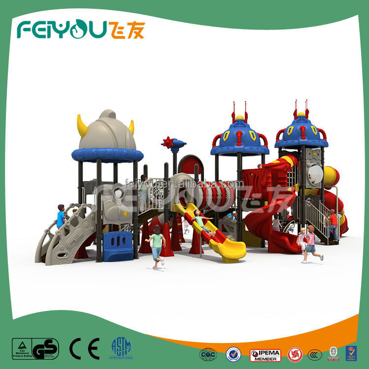 Space series explore the unknown world large outdoor children amusement park equipment