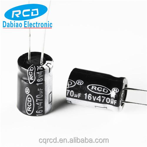 20PCS 470uF 16V 470MFD 16Volt SMD Electrolytic Capacitor 8mm×10.4mm
