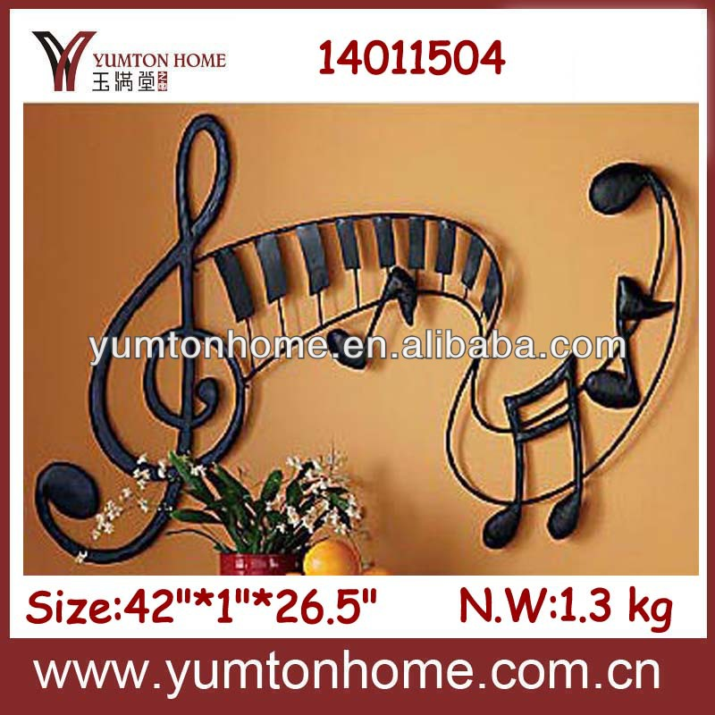 Music note metal wall art decor and metal wall art