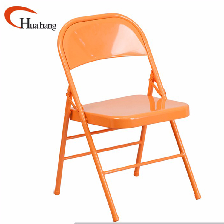 Simple Folding Mental Outdoor Wedding Used Folding <strong>Chair</strong> Wholesale