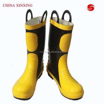 CHINA XINXING de punta de acero de la lucha contra el fuego combate botas  resistente al 43ba4c44f3953