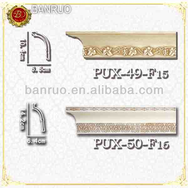 2014 decorative exterior moulding for door or cornice PUX-49/50