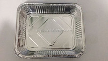 Disposable Household aluminum roaster tray Half Size Deep Tray