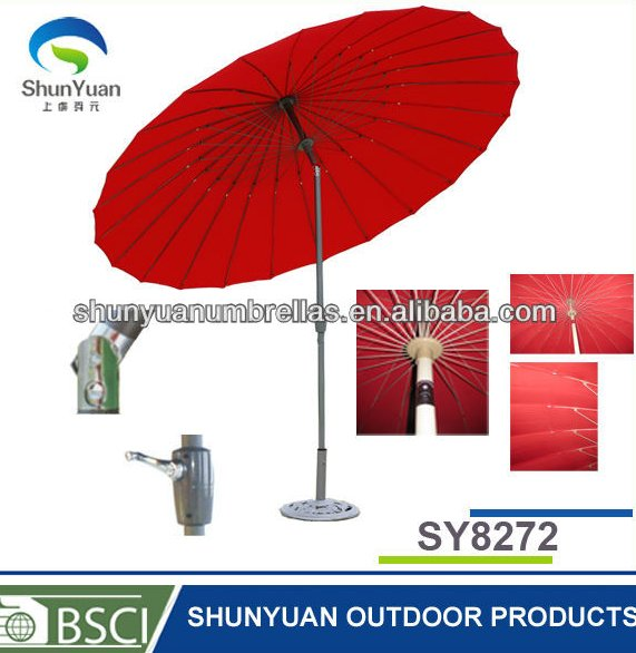 with ABS crank house and aluminum crank Steel Wire Umbrella