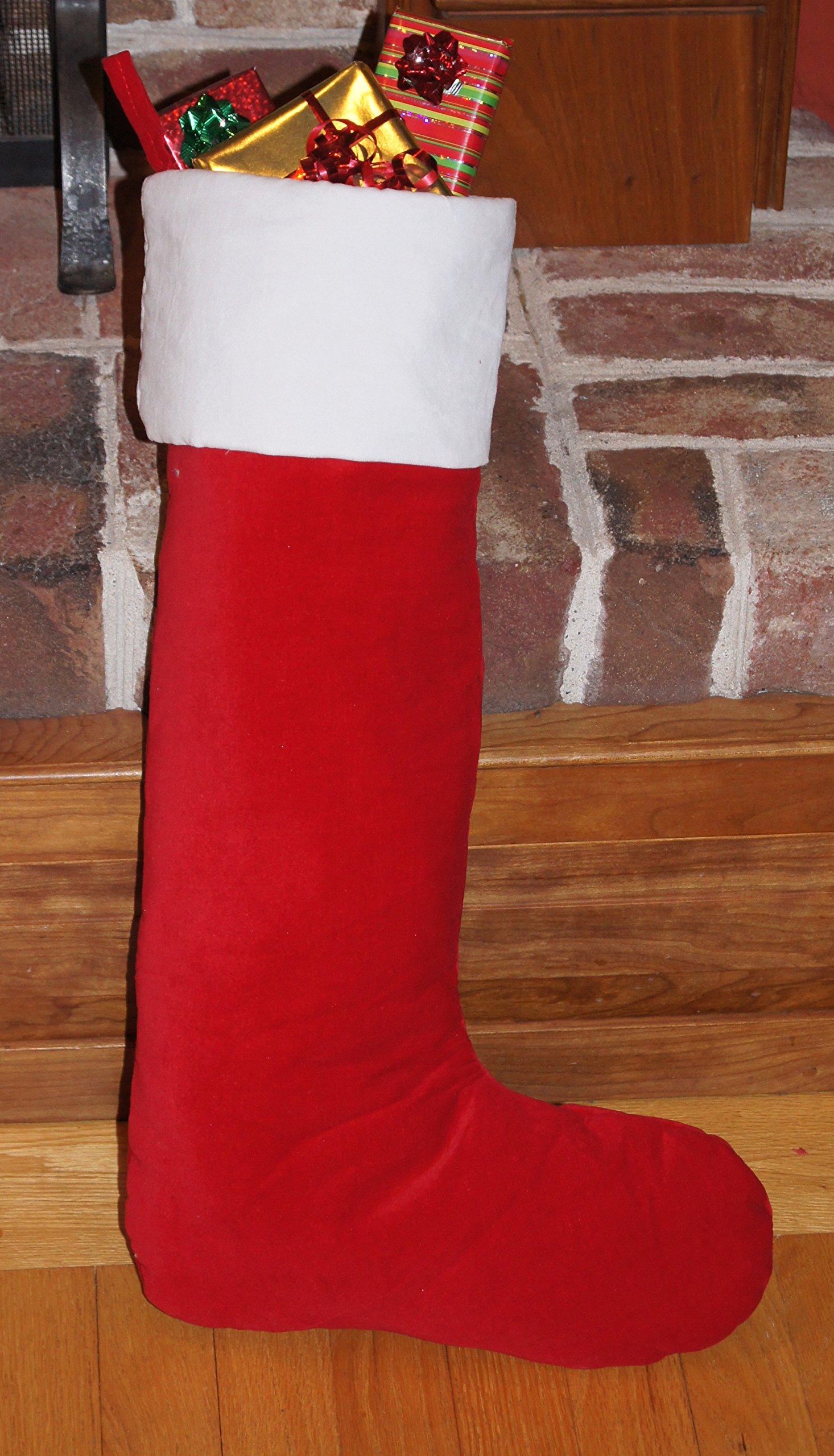 Cheap Red Velvet Christmas Stocking, find Red Velvet Christmas ...