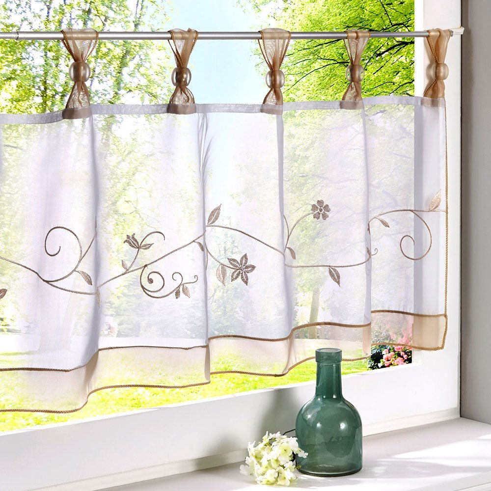 Buy Room With A View P111 Sheer Tab Top Curtain Panel 44 Inch By 96