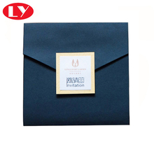 Paper wedding invitation card printing con Un Foglio di logo