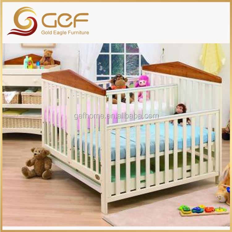 twins babies wooden crib baby cot bed for twins gef bb 106 buy twin beds for baby wood double. Black Bedroom Furniture Sets. Home Design Ideas