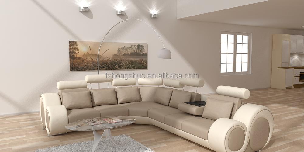 High End Modern Furniture: High End Modern China Living Room Furniture Sectional