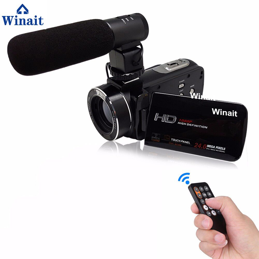 "Super 24mp FHD 1080p Professional Digital Video <strong>Camera</strong> With 3.0""Touch Display"