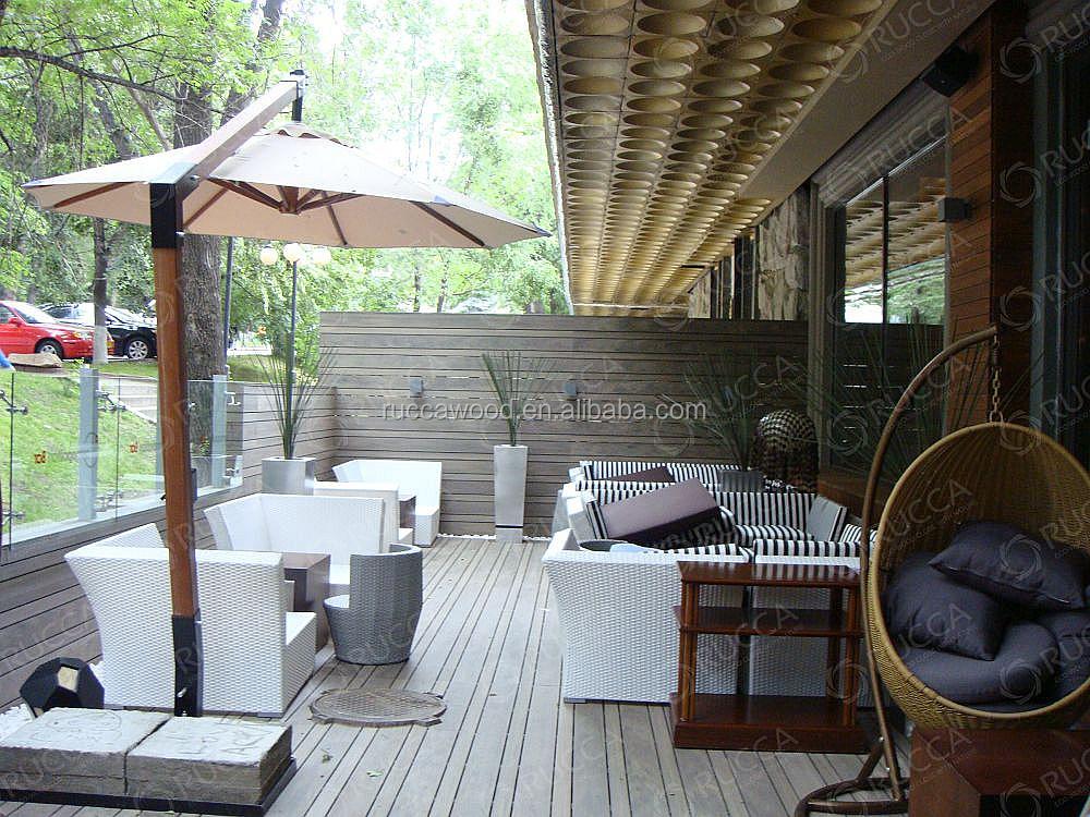 Houten Balkon Tegels : Wpc outdoor houten vloeren laminaatvloer voor zwembad tegel tuin