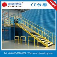 Mezzanine Rack Floor System 2 Tier Steel Platform