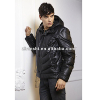 Fashion PU Leather Jacket for Men