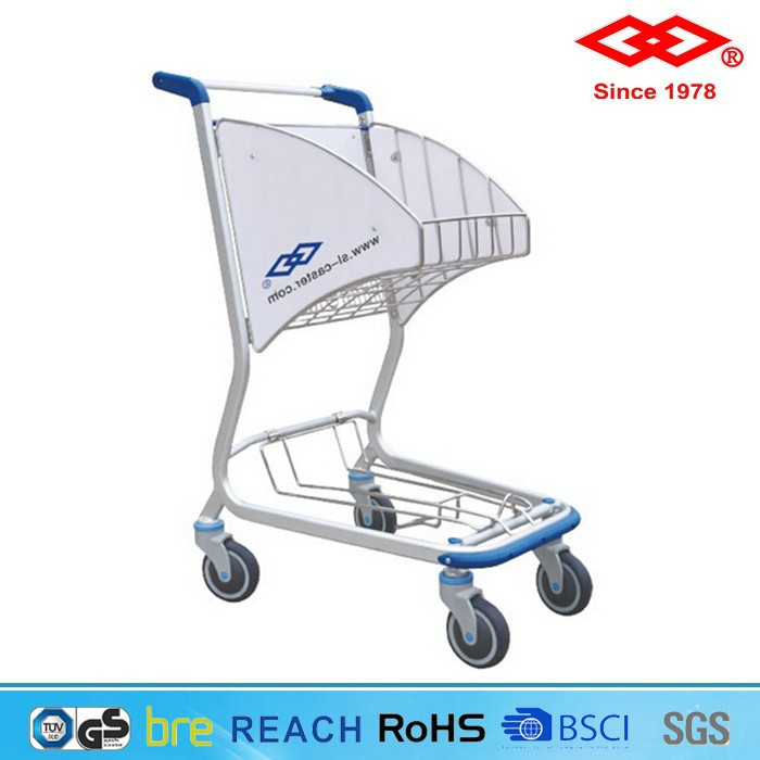 Cheap Wholesale folding shopping laundry trolley cart
