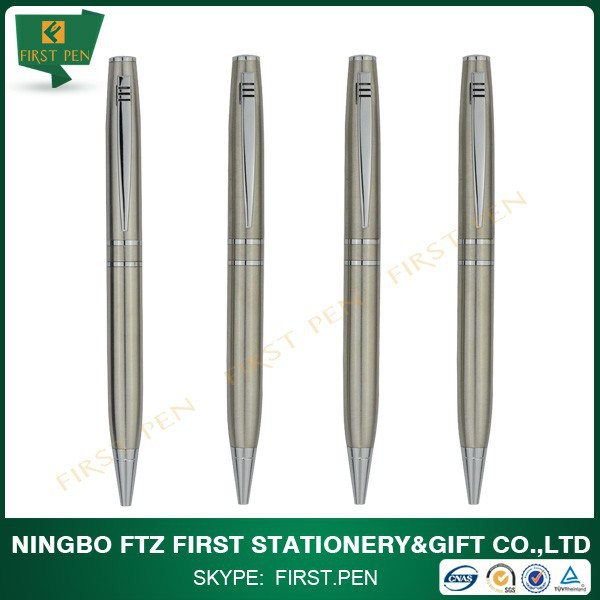 High Grade Silver Chinese Writing Pen
