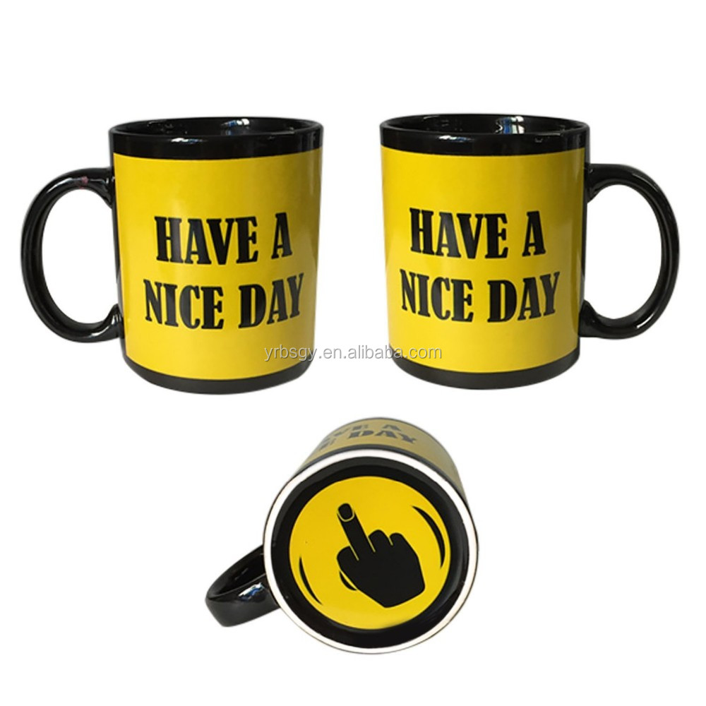 Valentine's Day gift Coffee white magic mugs sublimation ceramic mugs and cup High quality orca coating mugs