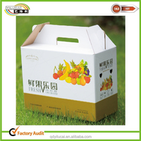 the vegetables and fruit packaging corrugated paper box