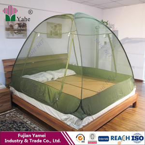Nice Looking Military Green Pop Up Folding Adult Children Bed Mosquito Net Tent