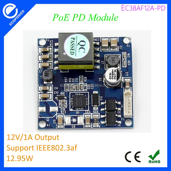 Poe Switch 12v 1a Power Over Ethernet Isolated Pd Module