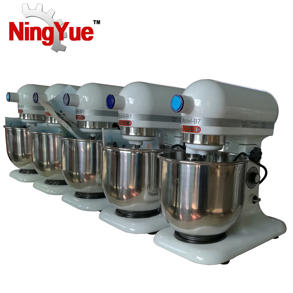 5L 7L SS Stainless electric stand kitchen food fresh milk mixer