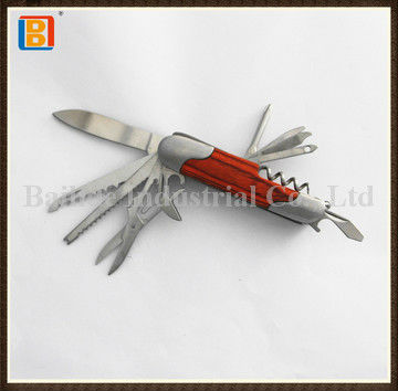 2017 Mini Practical Rose Wood Multi Function Pocket Swiss Knife And Survival Knife Tools For Outdoor