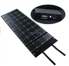 120W Dual output foldable fabric solar charger for laptop
