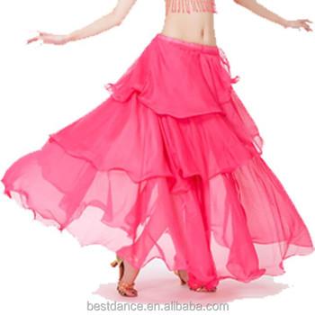 c60c49ada4cd Bestdance Árabe Traje Danza Del Vientre Gasa Bellydancing Faldas Sexy 3  Filas Larga Faldas De Gasa Para Las Mujeres Oem - Buy Danza Árabe  Falda,Traje ...