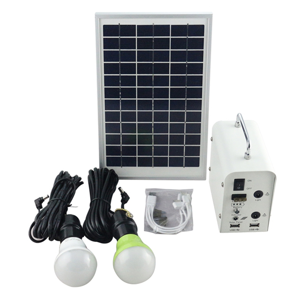 solar shed light with USB port to charge mobile phone solar home pack
