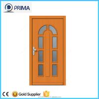 house design wood veneer door skin / melamine molded wooden door