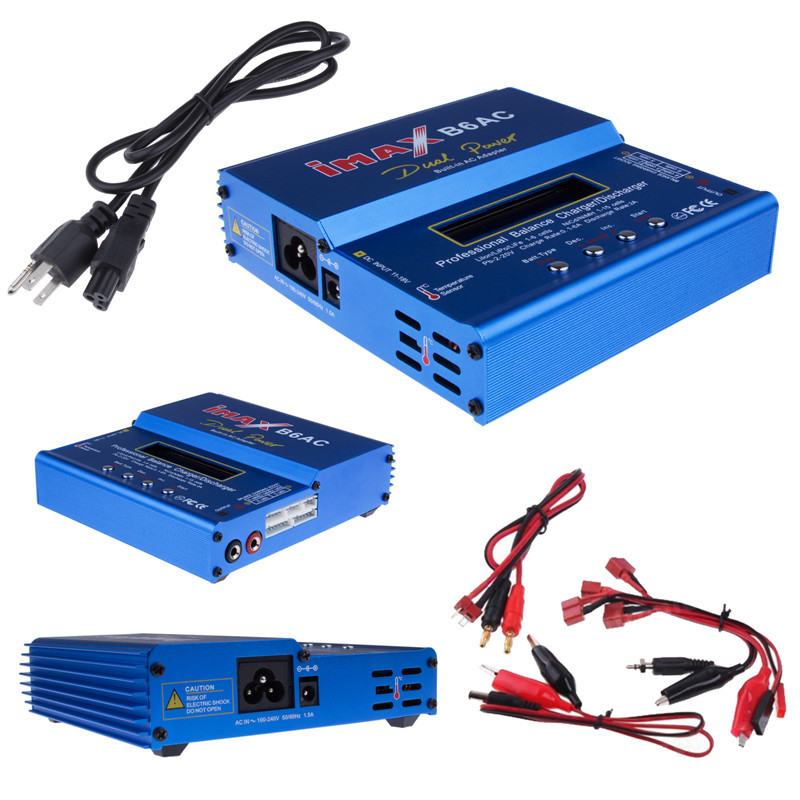 IMAX B6 AC B6AC B6 pro 3S RC Lipo/NiMH Battery 80W Digital Balance Charger For RC Model Nimh Battery Balancing Charger