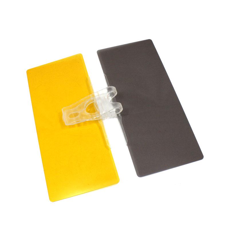 Anti-Glare Blocker UV Fold Flip Down HD Clear View Sun Visor Car Sun Visor