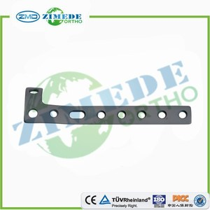 orthopedic implants CE ISO proximal tibial L plate trauma implants