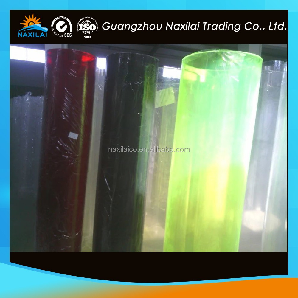 plastic pipe industry PMMA Material acrylic clear plastic cutting tube