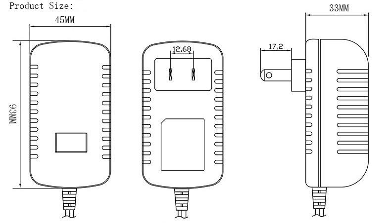 good quality wall plug type 5v 4a ac  dc power adapter with wall plug led driver 4000ma