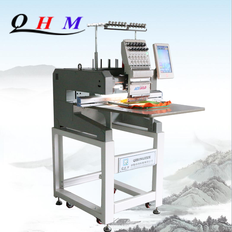 2019 New Price of Single Head Embroidery Machine Manual Embroidery Machine