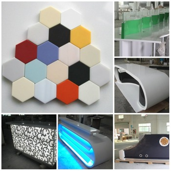 Competitive Price Bar Counter Materials Pure White Corian Modified ...